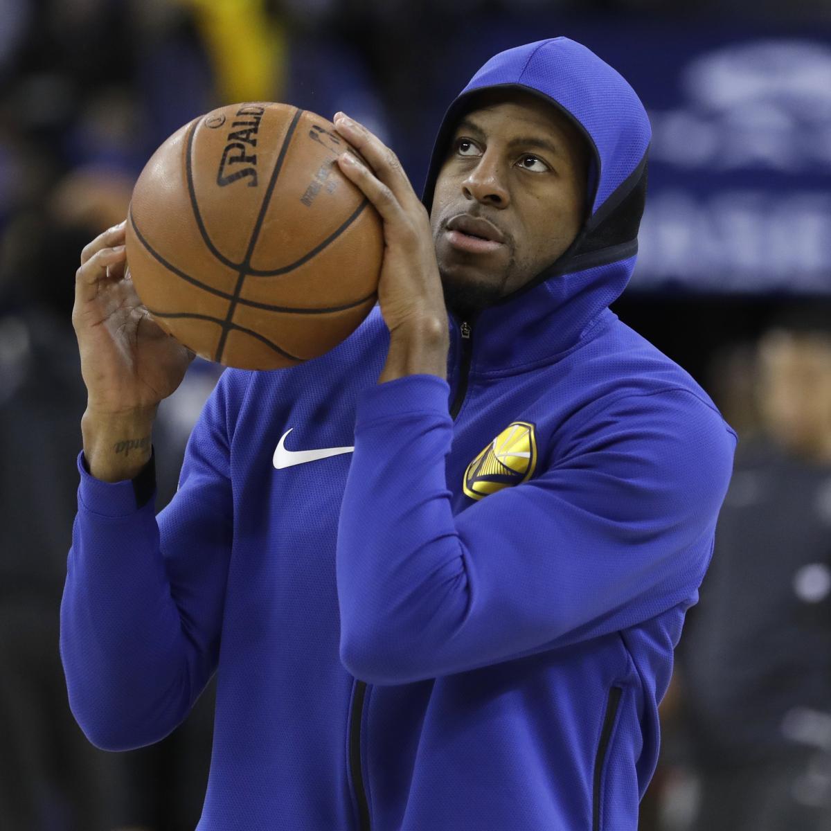 Portland Blazer Rumors: Andre Iguodala Fined $25,000 For Throwing Ball In Crowd Vs
