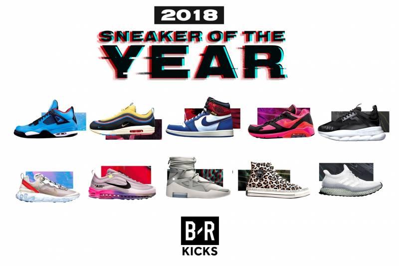 wholesale dealer e32cb d7521 B R Kicks 2018 Sneaker of the Year