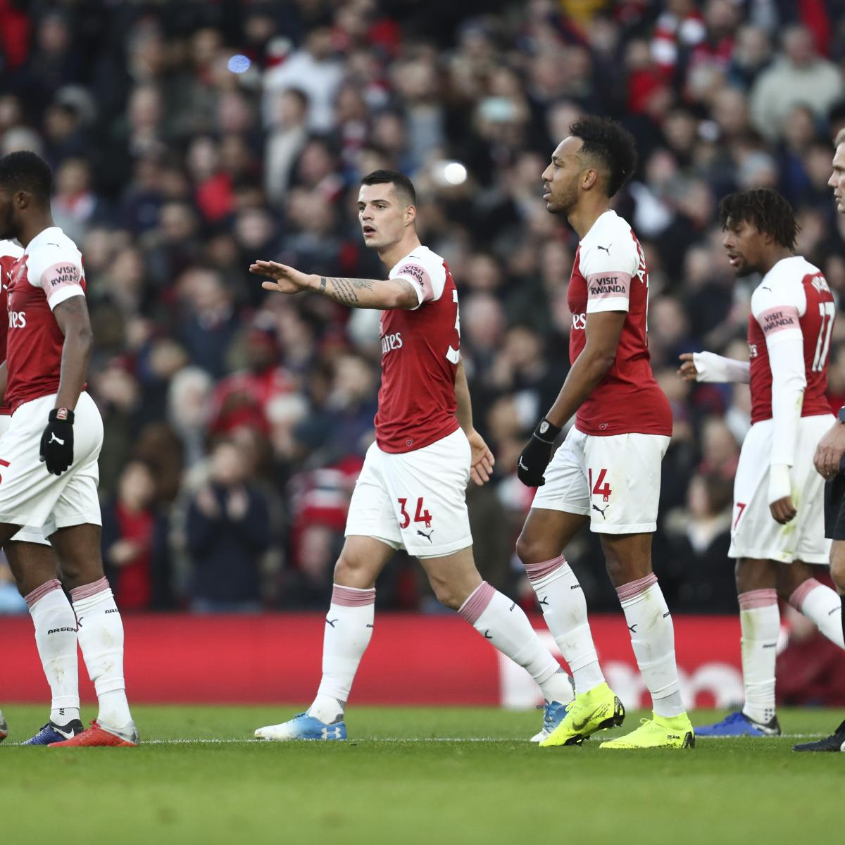 Arsenal Vs Tottenham Live Score Highlights From Premier: EPL Table: Tuesday's Week 21 Results, Scores And 2019