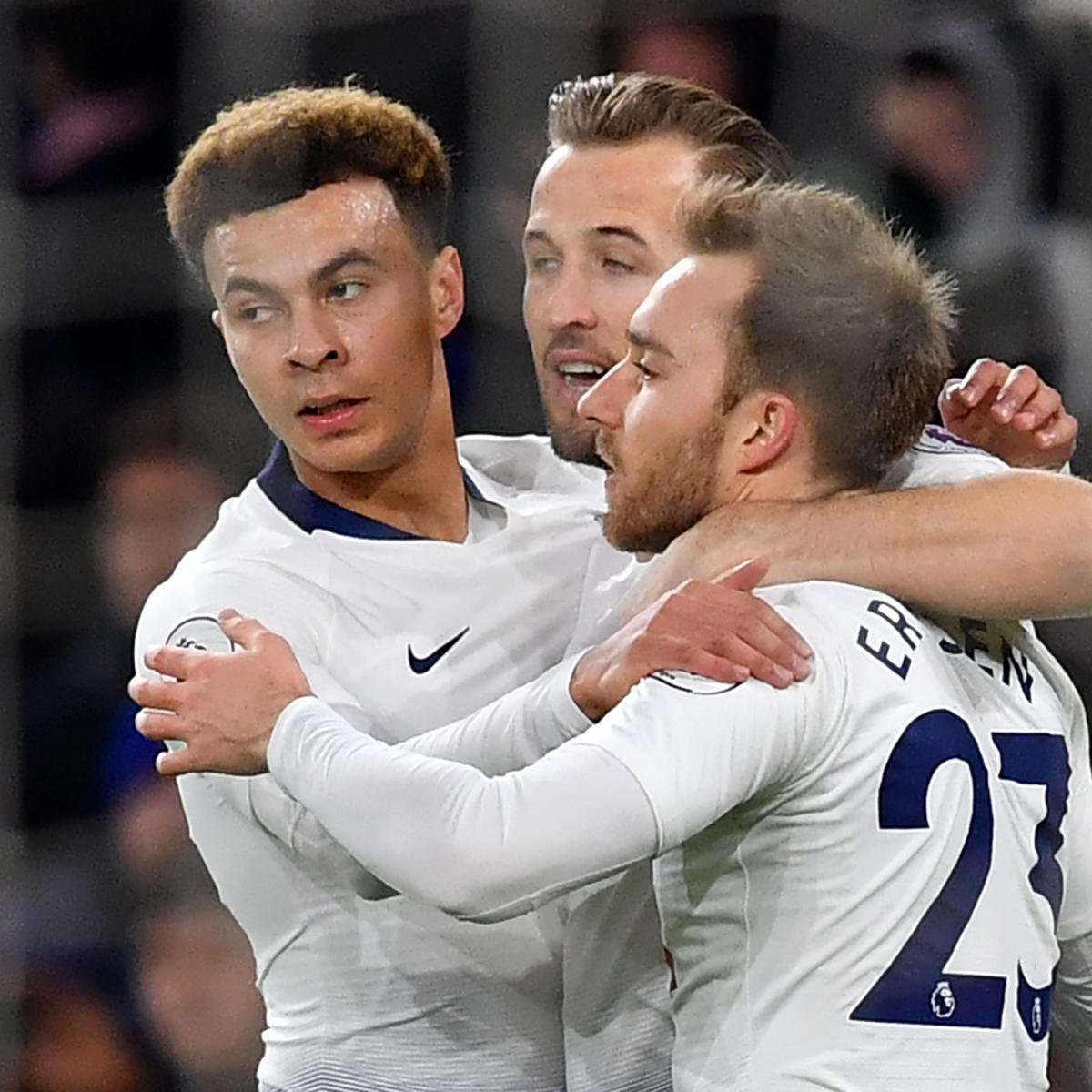 Tottenham 3 Fulham 1 Match Highlights Harry Kane Scores: EPL Results Week 21: Tuesday's 2019 Premier League Scores