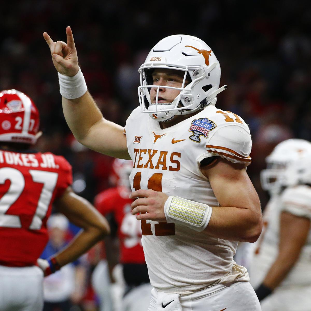 Sam Ehlinger: Texas Is 'Back' After Win over Georgia in ...