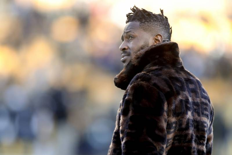 c7f48bbf1cb81 Trading Antonio Brown Is the Only Way out of the Steelers  No-Win ...