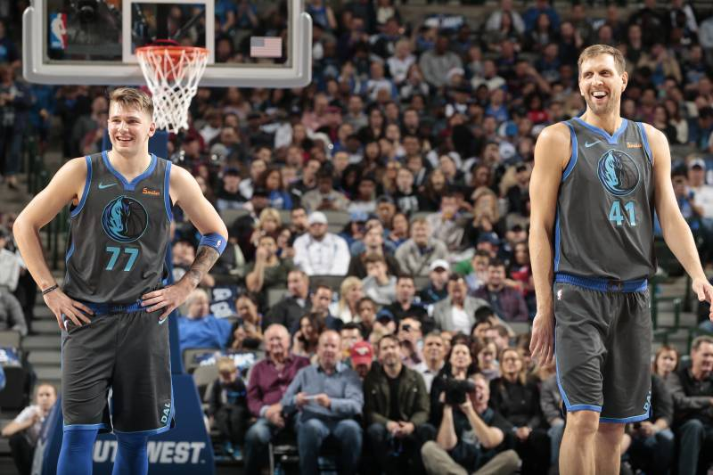 05e8f47e7a0 Dirk Nowitzki   No Chance  Luka Doncic Would Beat Me 1-on-1 Back in ...
