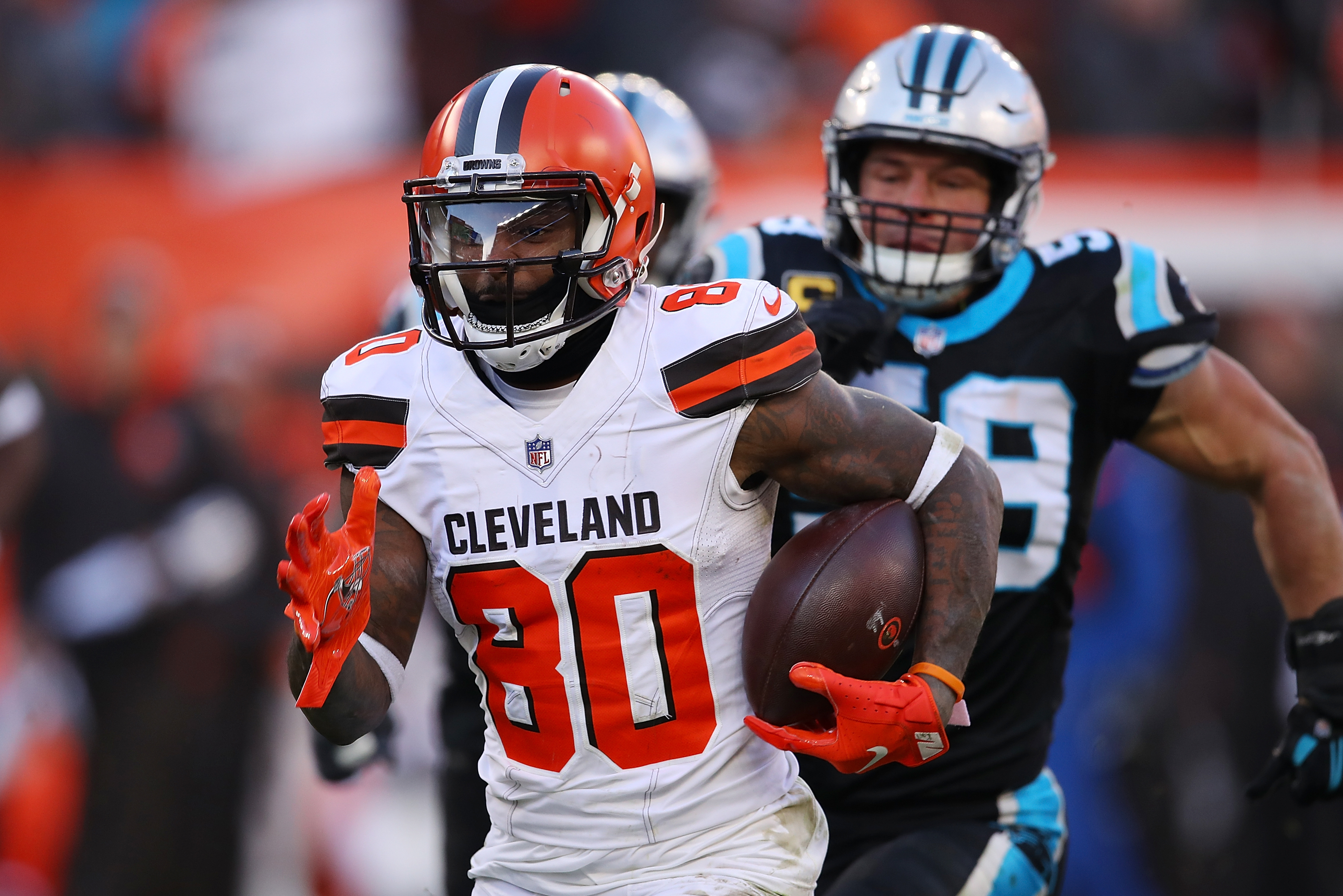 sports shoes ea76a f1d9b Jarvis Landry Recruits Antonio Brown, Le'Veon Bell to Browns ...