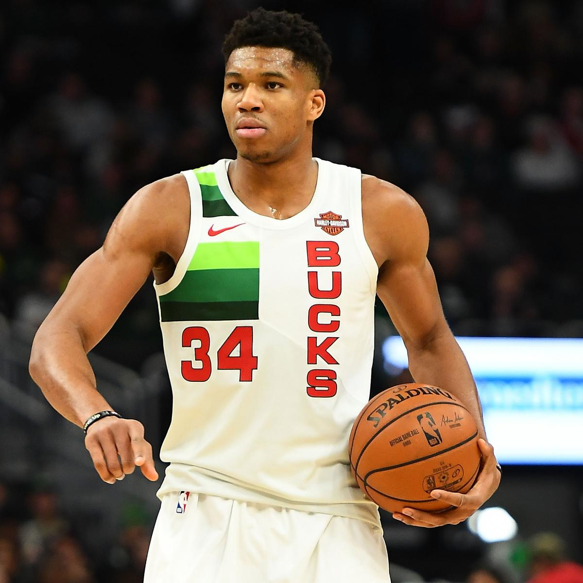 Giannis, LeBron James And Anthony Davis Lead Updated 2019