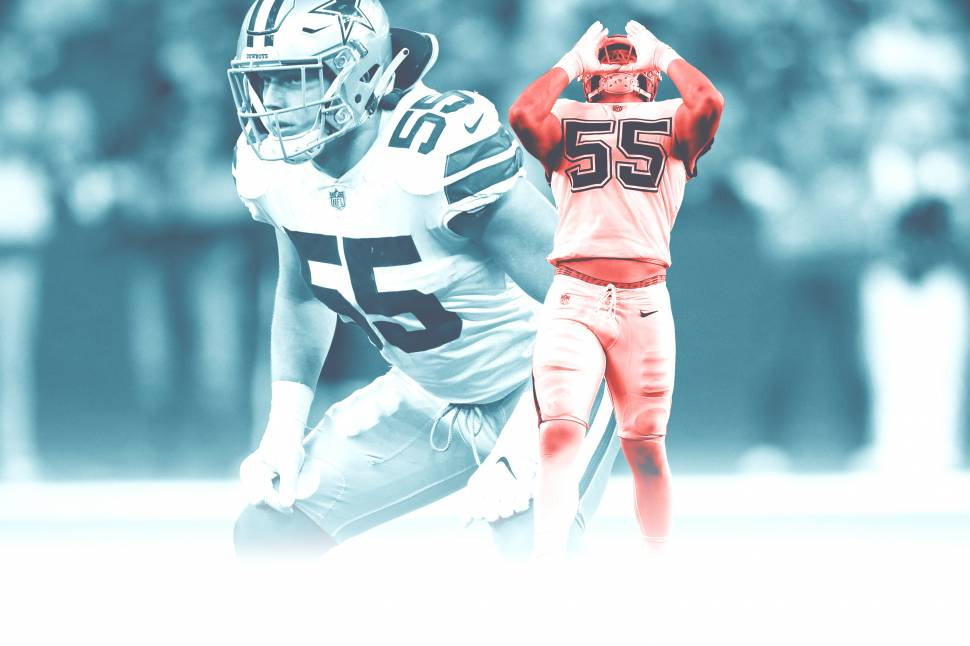 new styles 91a3f dfff7 Leighton Vander Esch Was Born to Be a Cowboy | Bleacher ...