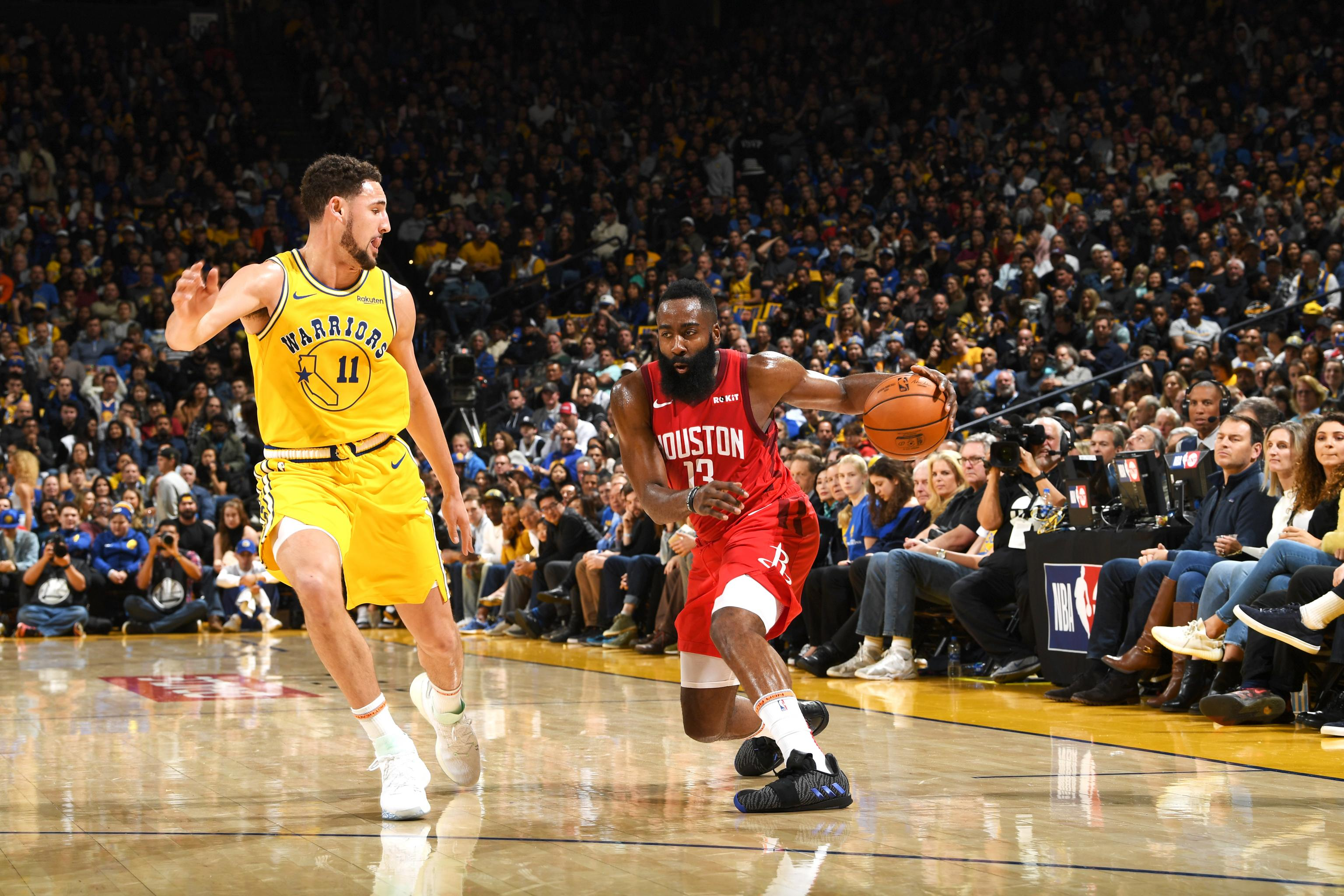 4806eeb803dc 2019 NBA MVP Odds  James Harden Favorite After Dropping 44 on Warriors