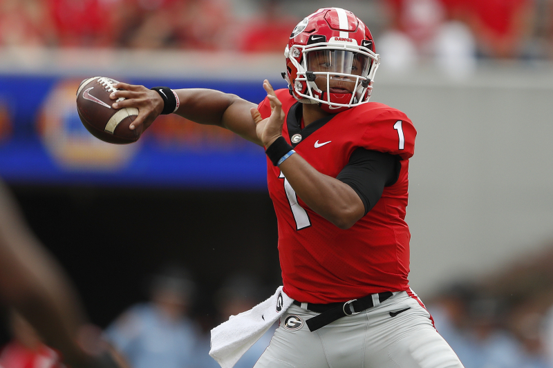 Report: Justin Fields Seeking Immediate Eligibility over Racial Slurs at Georgia