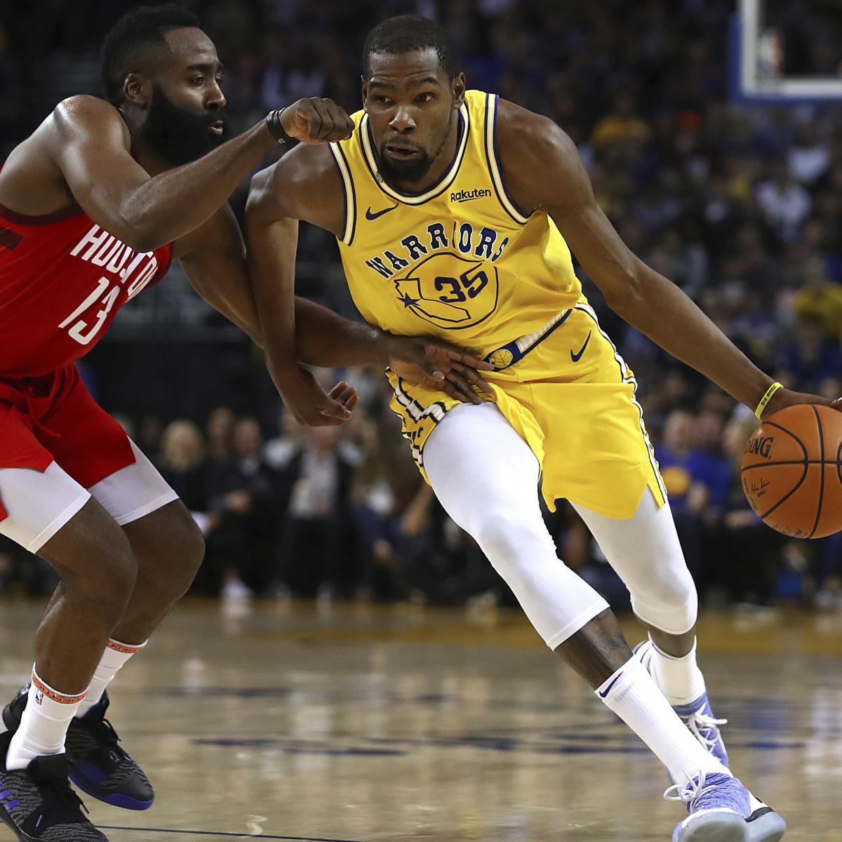 Rockets Vs Warriors Durant: Rockets Vs. Warriors L2M Report Confirms Kevin Durant Was