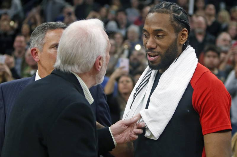 14382dcba27f Gregg Popovich Asked Scottie Pippen to Consult Kawhi Leonard During Spurs  Tenure