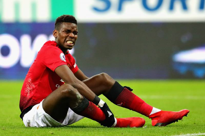 Image result for Paul Pogba injury