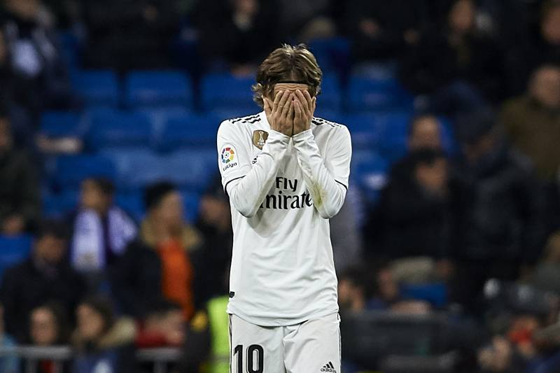 bb0c21712 Luka Modric Says Real Madrid  Can t Keep Cocking Up  Every Game ...