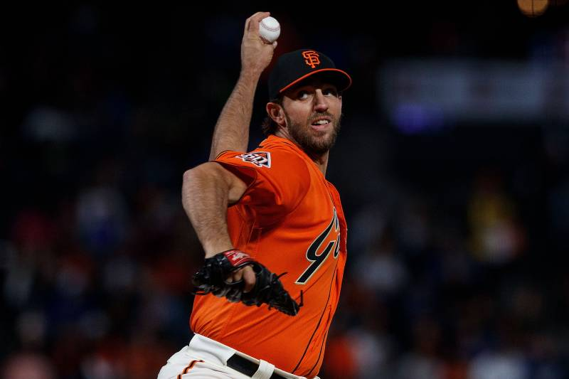 8bff5d43ac4 MLB Trade Rumors  Madison Bumgarner Deal Discussed by Giants ...