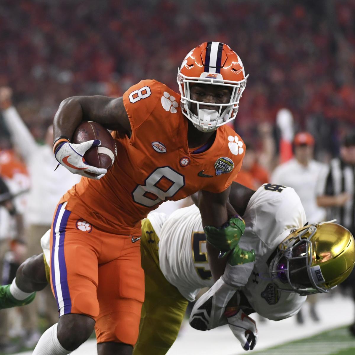 2019  Clemson: College vs. and Alabama Football Odds