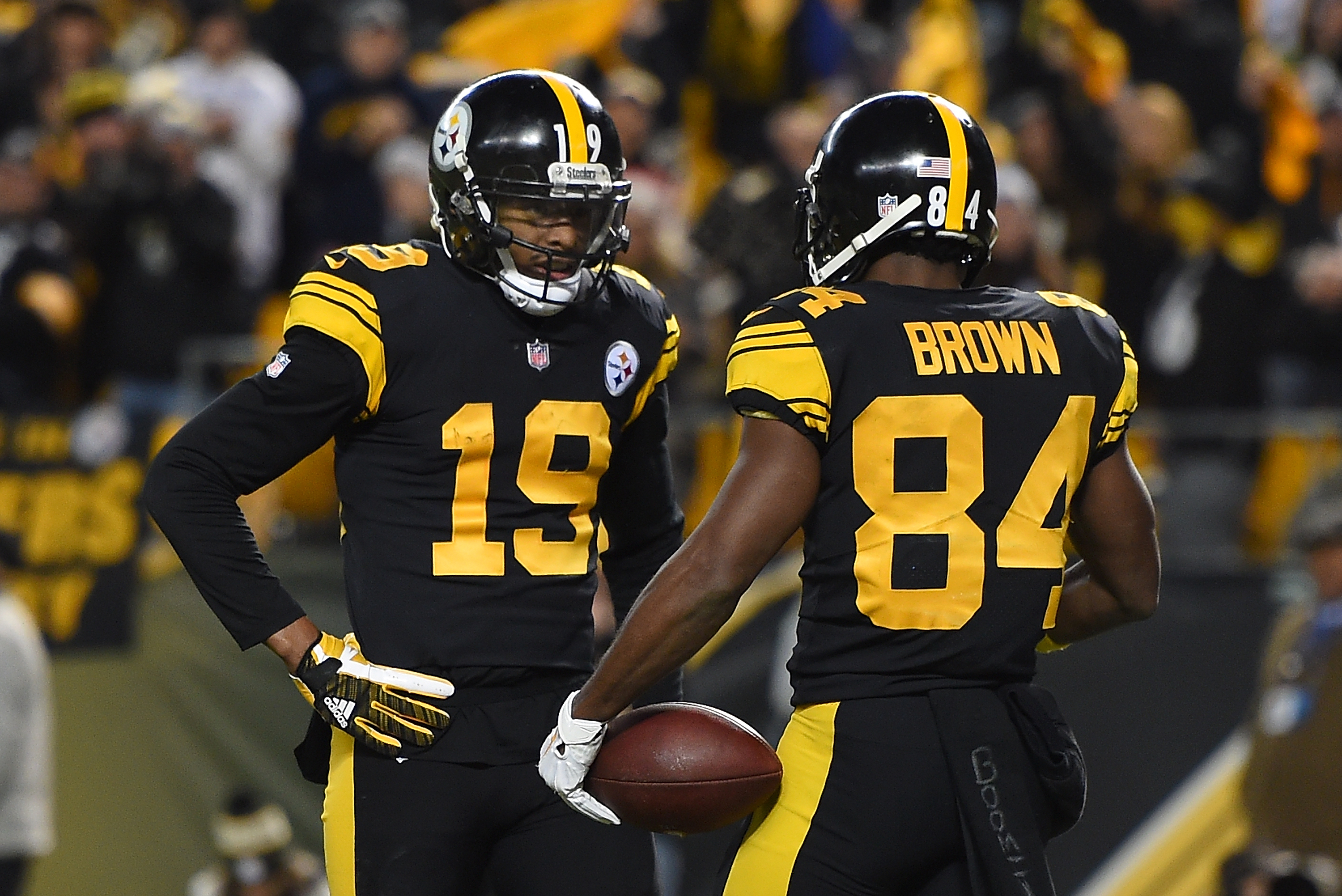 purchase cheap 52778 59503 JuJu Smith-Schuster Replaces Antonio Brown in 2019 Pro Bowl ...