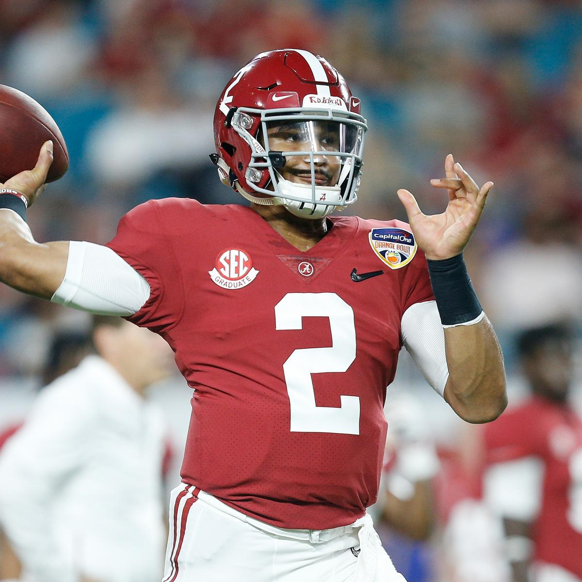 Tua Tagovailoa Benched for Jalen Hurts in 4th Qtr of Clemson Blowout of  Alabama  41ba8b8d7