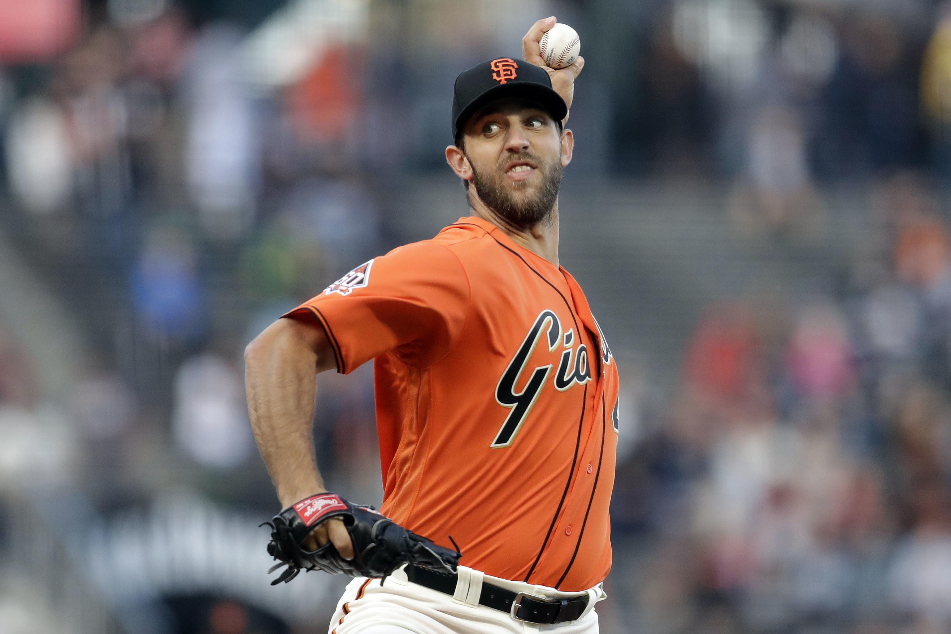 fc34e889 Madison Bumgarner Rumors: Giants Seeking Young SP from Brewers ...