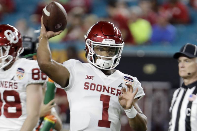 Kyler Murray NFL Draft Odds: Oklahoma QB Favored to Be Drafted in