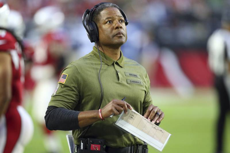 3ec7f1e8 Ex-Cardinals HC Steve Wilks Agrees to Contract to Become Browns DC ...