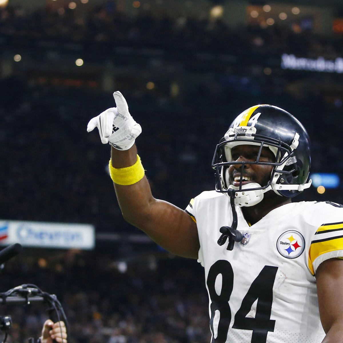 Antonio Brown Trade Rumors: Steelers Expect to Hear from Packers, Eagles, More