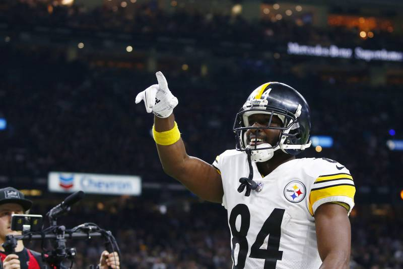 release date 73c5b 99a1d Antonio Brown Trade Rumors: Steelers Expect to Hear from ...