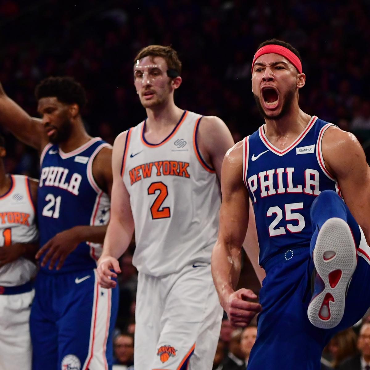 Ben Simmons Drops Near-Triple-Double As 76ers Beat Kevin