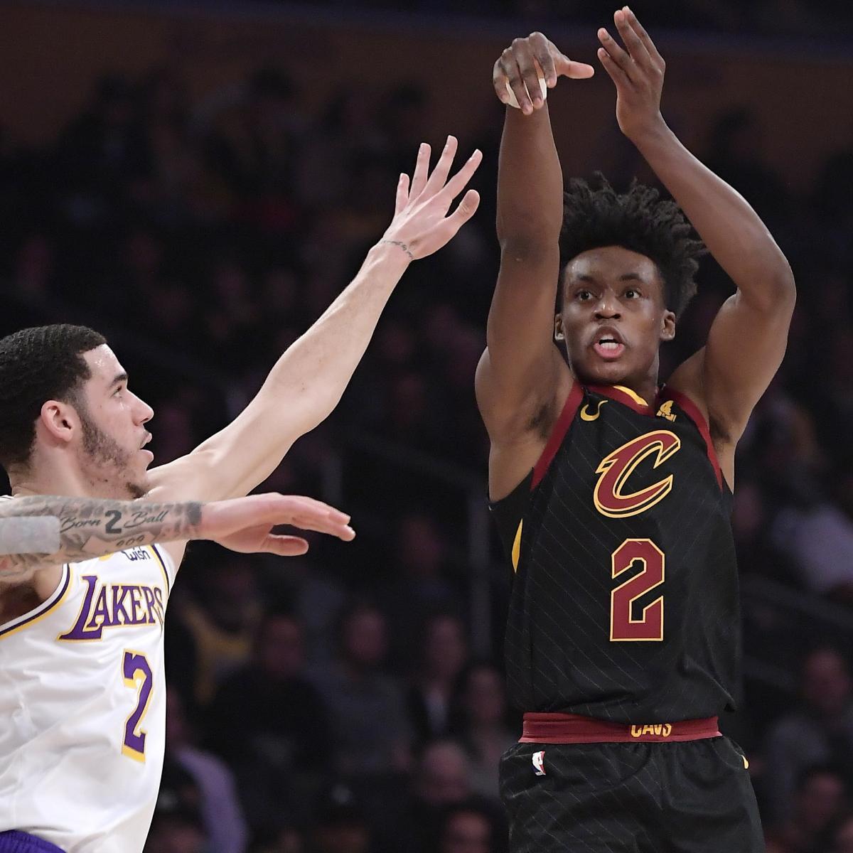 Lonzo Ball and Kyle Kuzma's Lakers Upset by Cavaliers ...