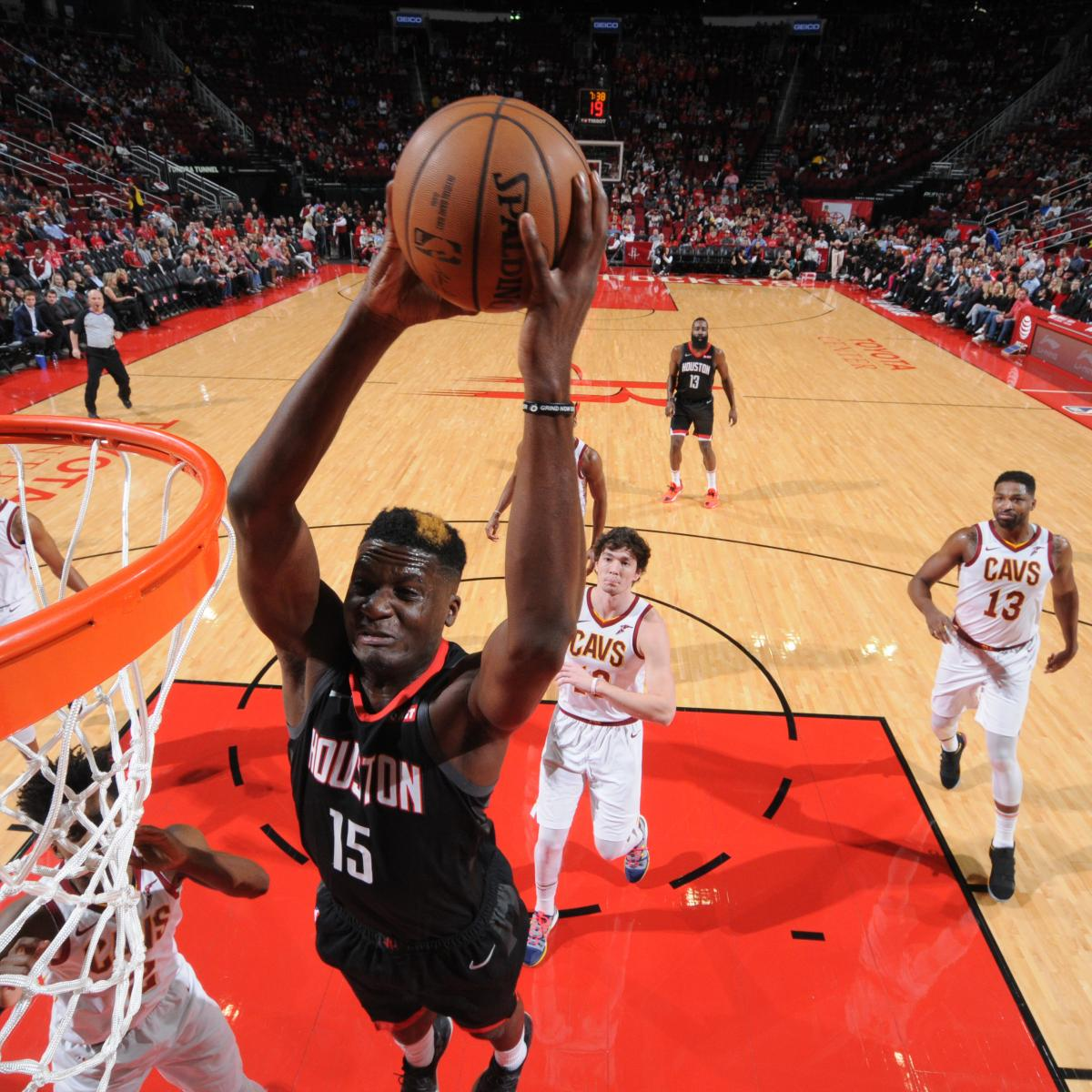 Houston Rockets Game Log: Rockets' First Game Without Clint Capela Reveals D'Antoni