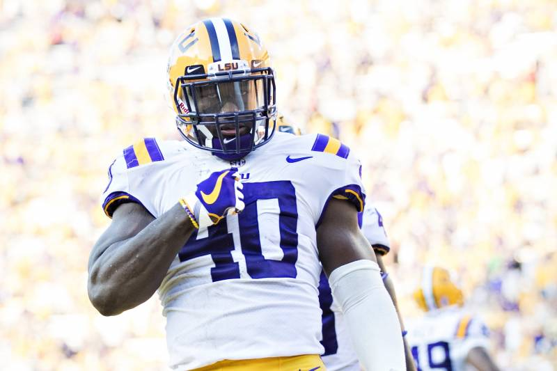 pretty nice 9638d eb526 Devin White Is Perfect LB to Take over NFL in Patrick Willis ...