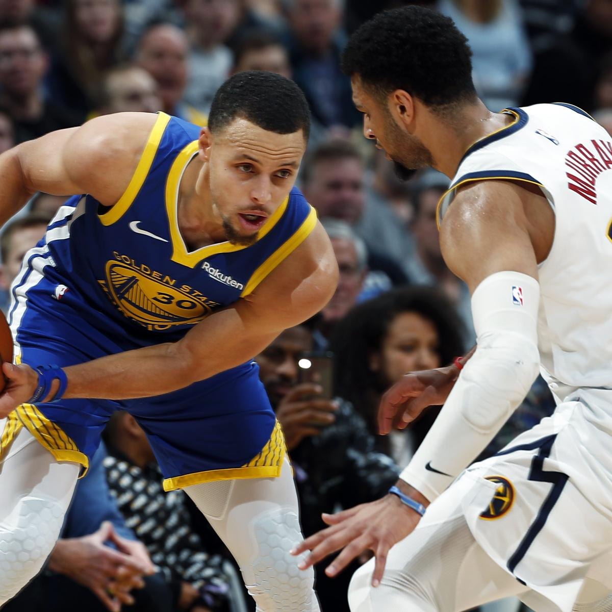 Stephen Curry, Warriors Crush Jamal Murray, Nuggets In