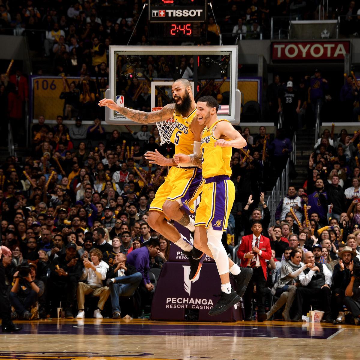 QnA VBage Lonzo Ball Shines as Lakers Beat Lauri Markkanen, Struggling Bulls