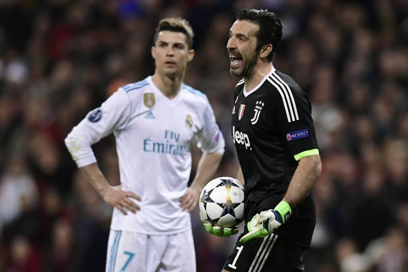 pretty nice 58409 ac7b1 Gianluigi Buffon Talks Cristiano Ronaldo at Juve, Neymar's ...