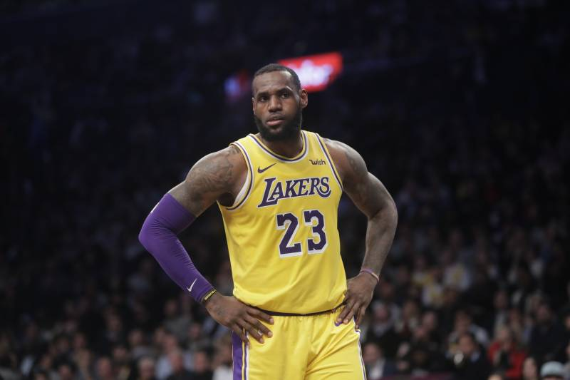 677120c80d8 Lakers News  LeBron James Cleared to Practice Next Week in Groin Injury  Recovery