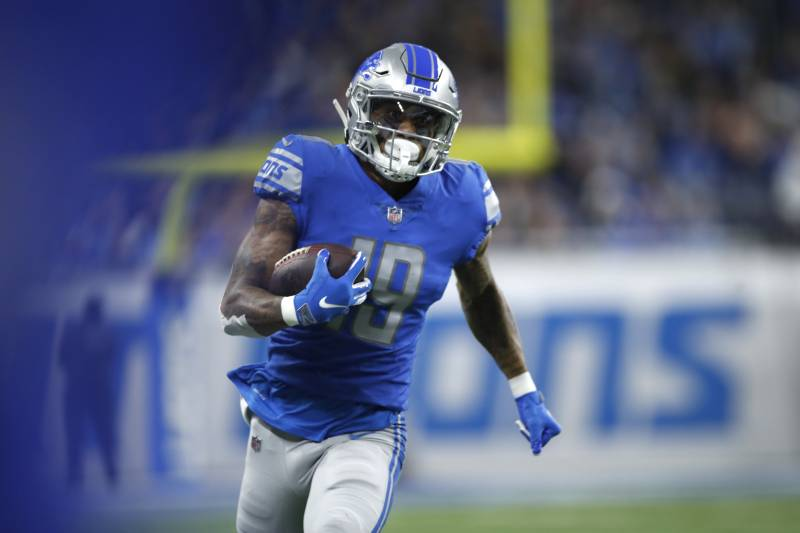 Kenny Golladay Says Lions Don't Need Antonio Brown Amid