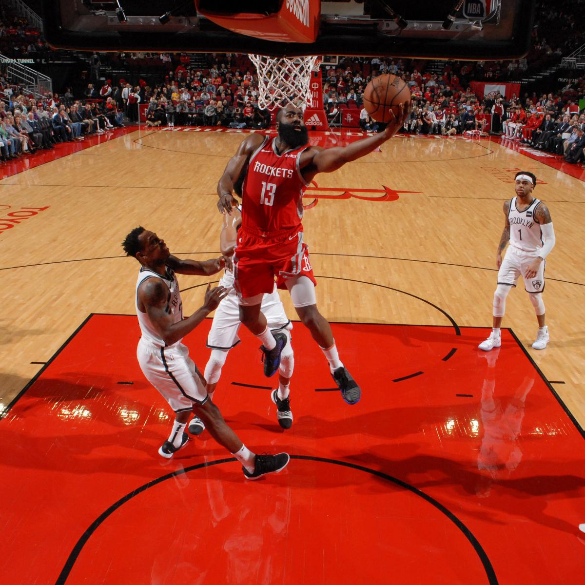 James Harden Records 2019: James Harden Erupts For 2nd Straight 50-Point Game In