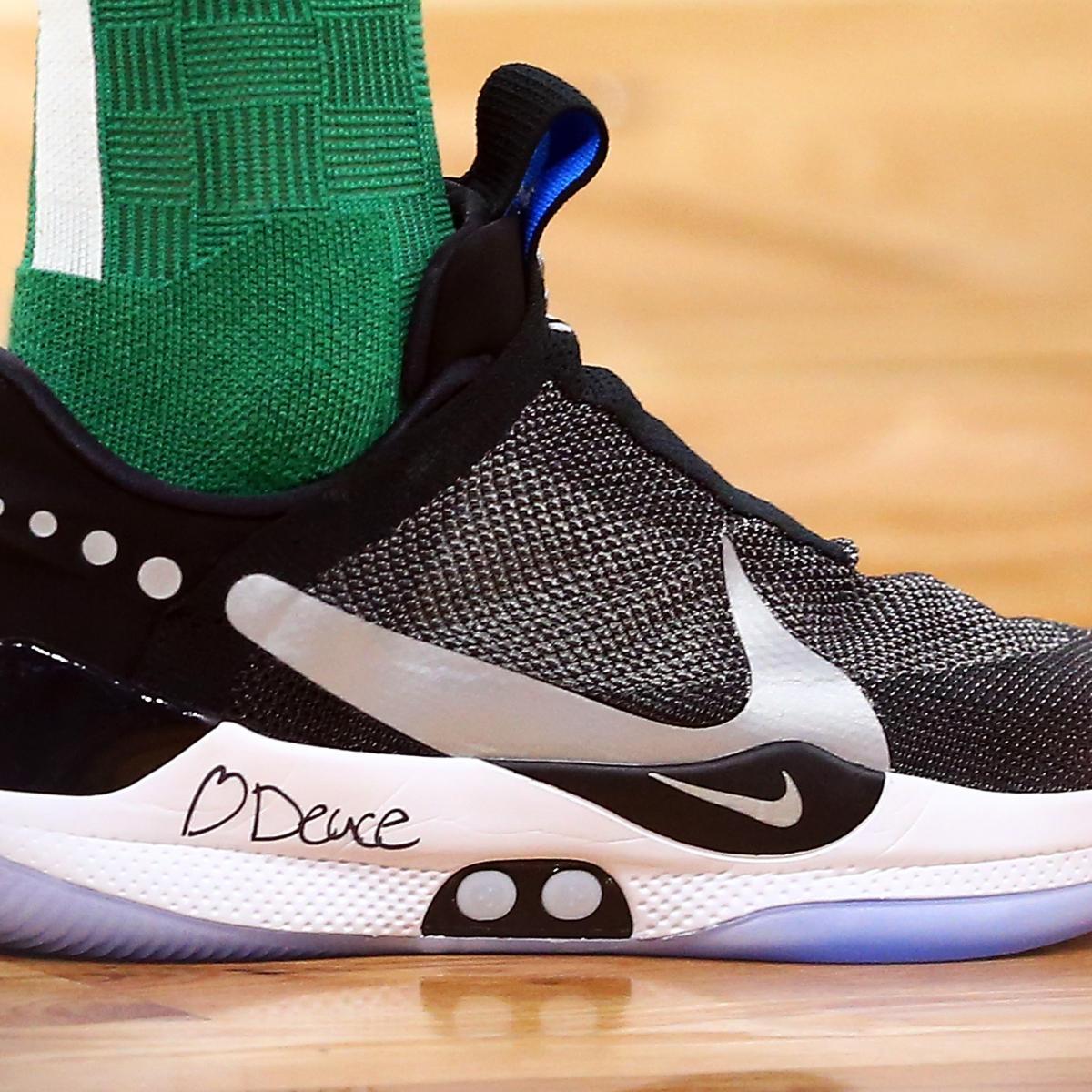 19ff19c1ad2 B R Kicks x NBA Nightly  Tatum and Luka Debut Nike Adapt BB