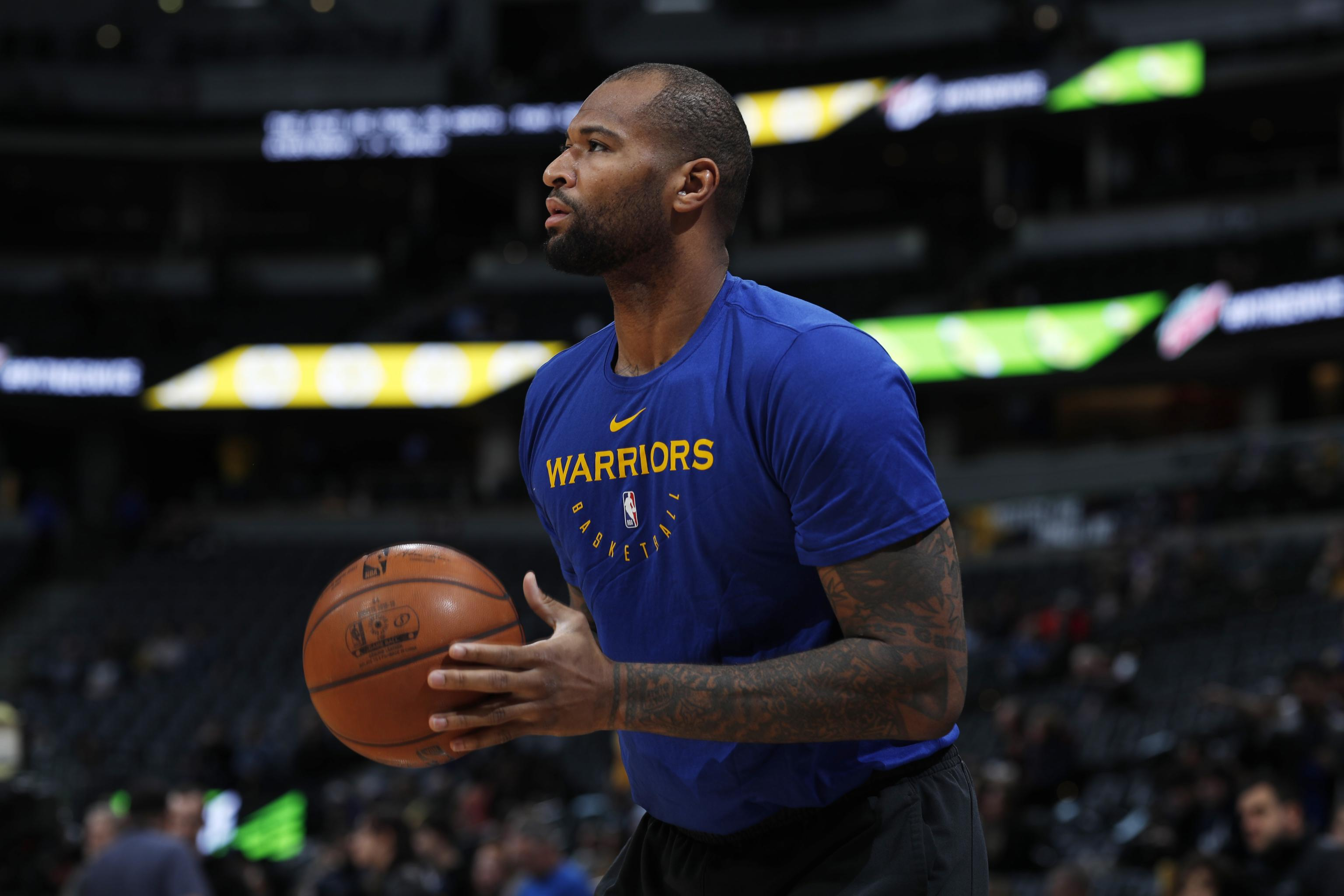 e59a9bf28 DeMarcus Cousins Gives Golden State Warriors Most Lethal Death Lineup Yet