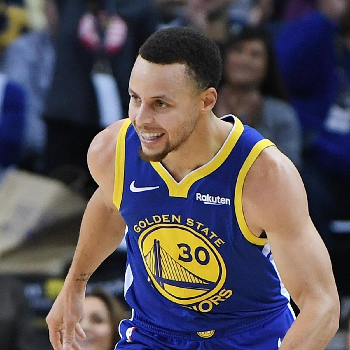 Golden State Warriors Record Without Steph Curry: NBA Power Rankings: Steph's Warriors Closing In On Giannis
