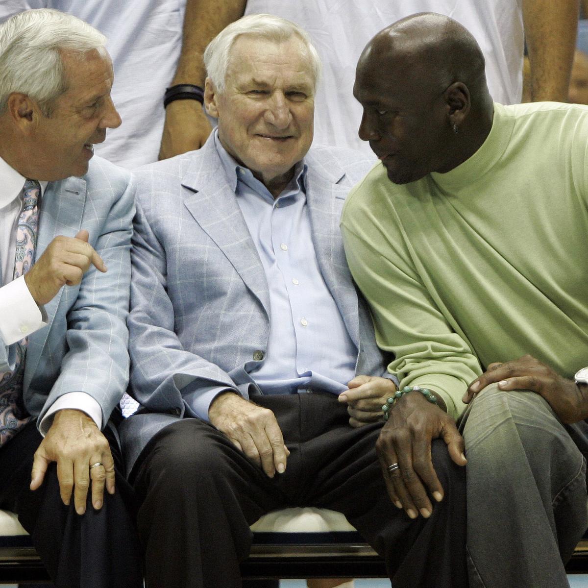 UNC HC Roy Williams Picks Michael Jordan over LeBron James in GOAT Debate   Bleacher Report ...