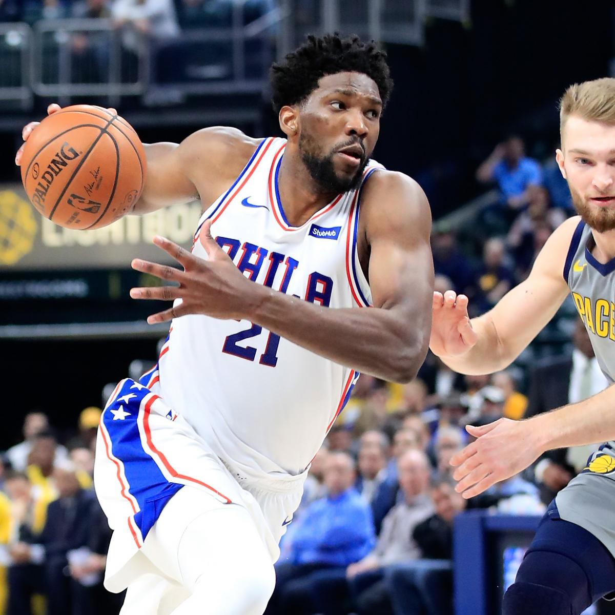 Blazers Home Court Advantage: Joel Embiid On Playing Through Back Injury Vs. Pacers: 'I