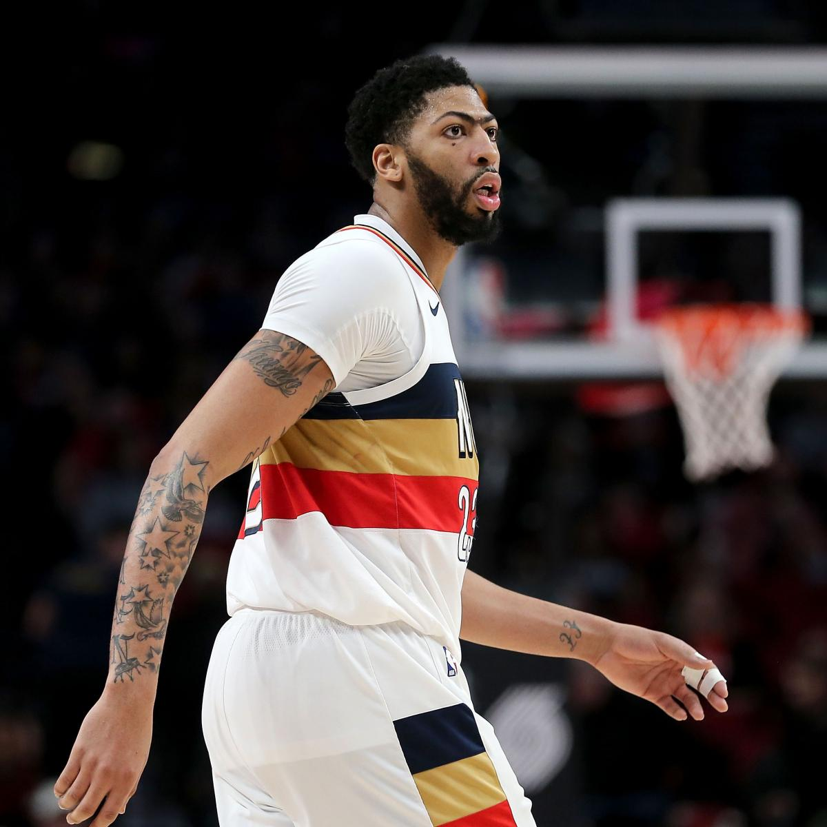 Anthony Davis Out 1-2 Weeks With Sprained Finger Injury