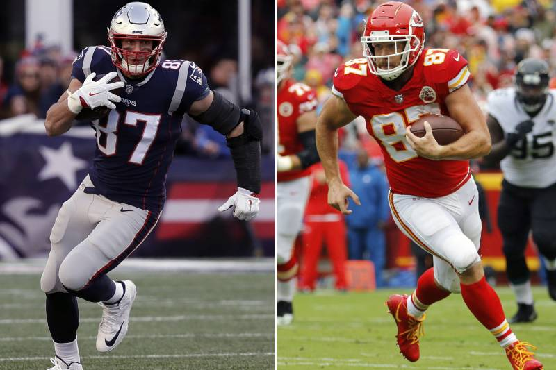 d5ce3461a Rob Gronkowski and Travis Kelce should both be impact players in the AFC  title game.
