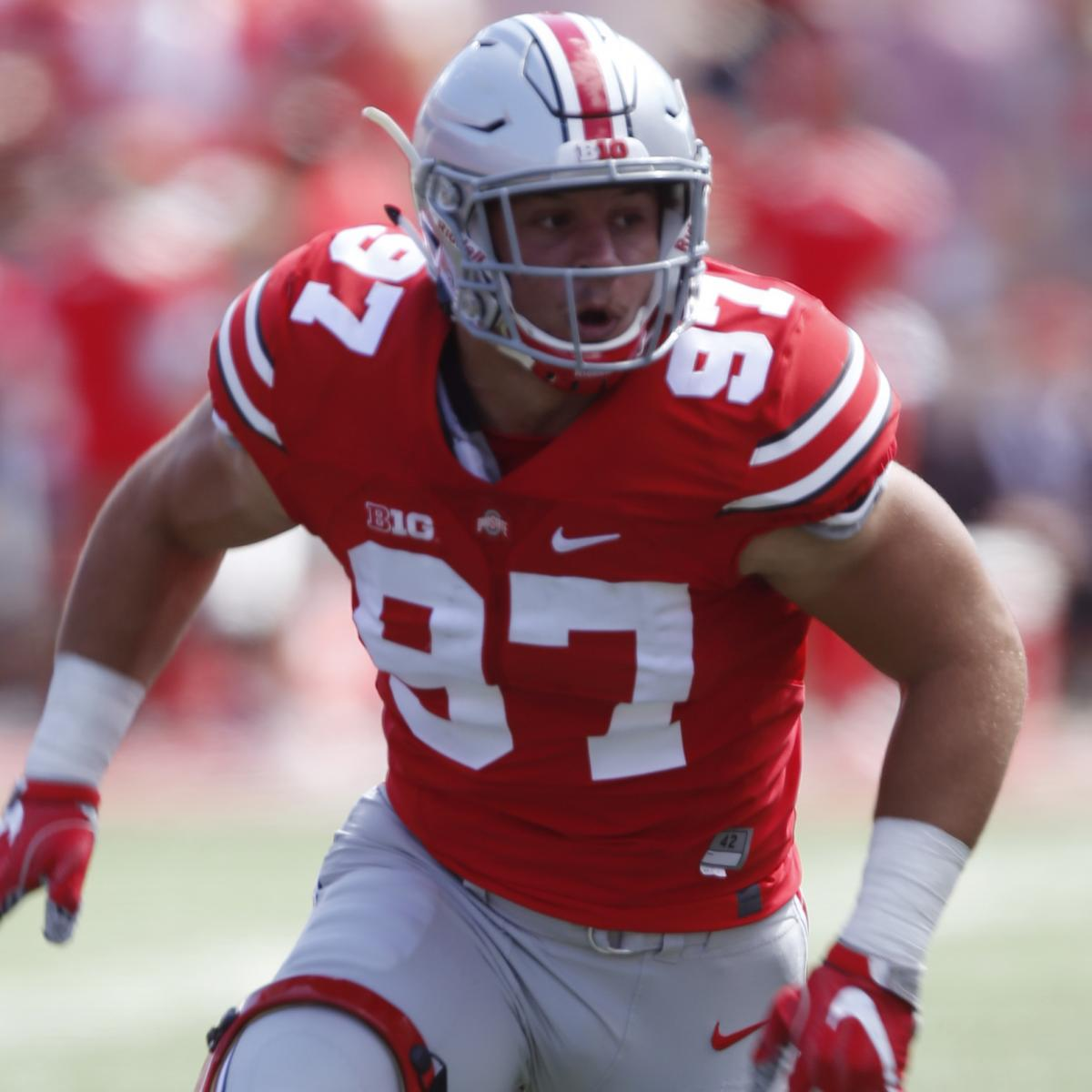 NFL Draft 2019: 1st-Round Order And Updated Mock Draft