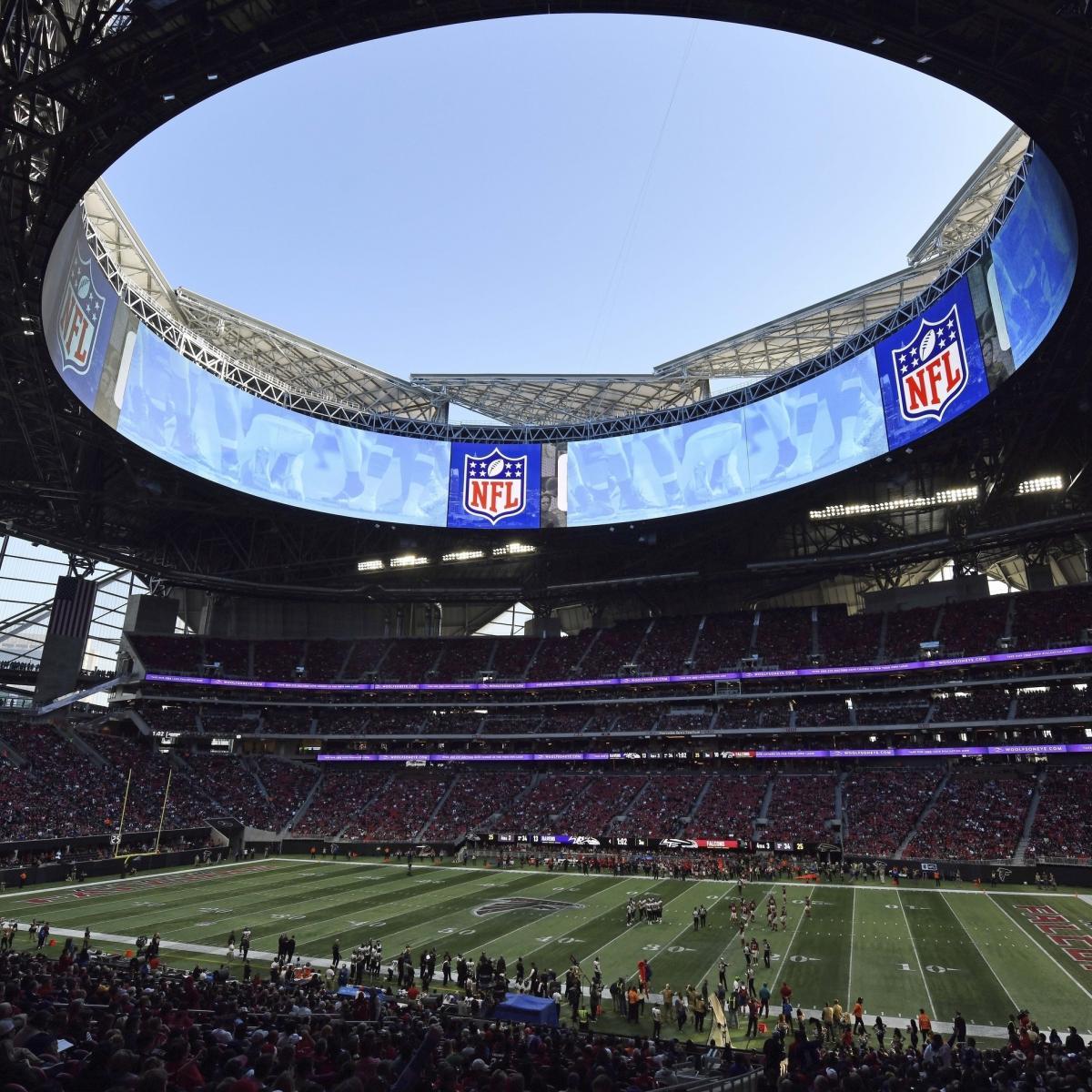 Super Bowl 2019: Mercedes-Benz Stadium To Maintain Lower