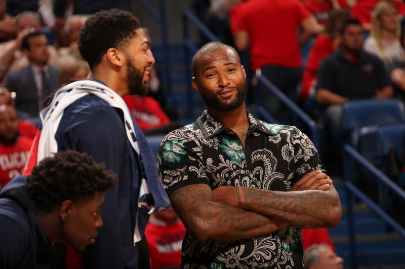048b4c67a8e DeMarcus Cousins on Not Returning to Anthony Davis