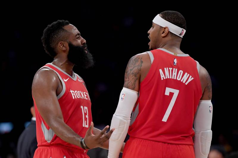5f341eacc98 James Harden  Carmelo Anthony  One of the Best  Ever