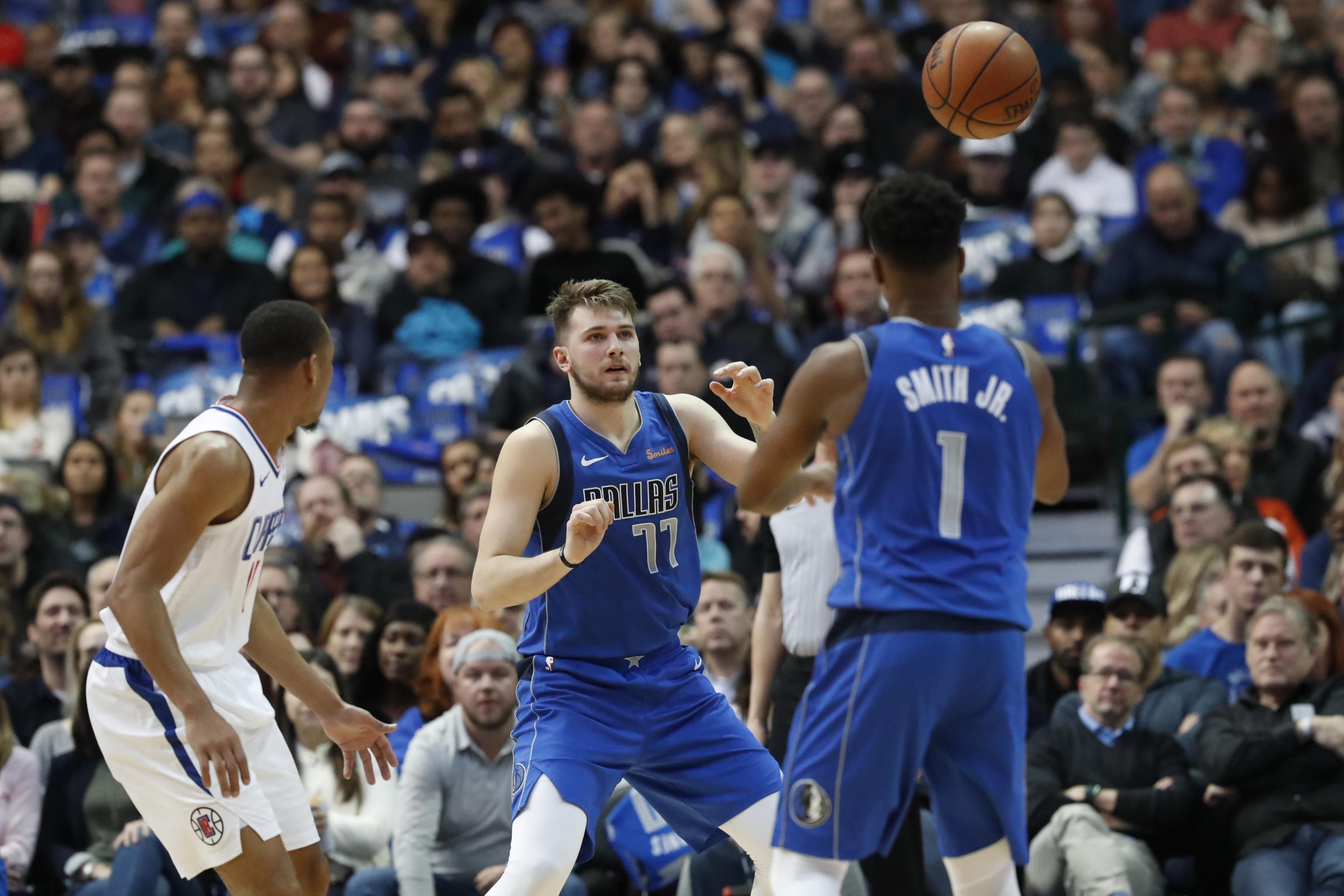 new product 3fb70 1937d Luka Doncic on Dennis Smith Jr.'s Absence from Mavericks: 'I ...