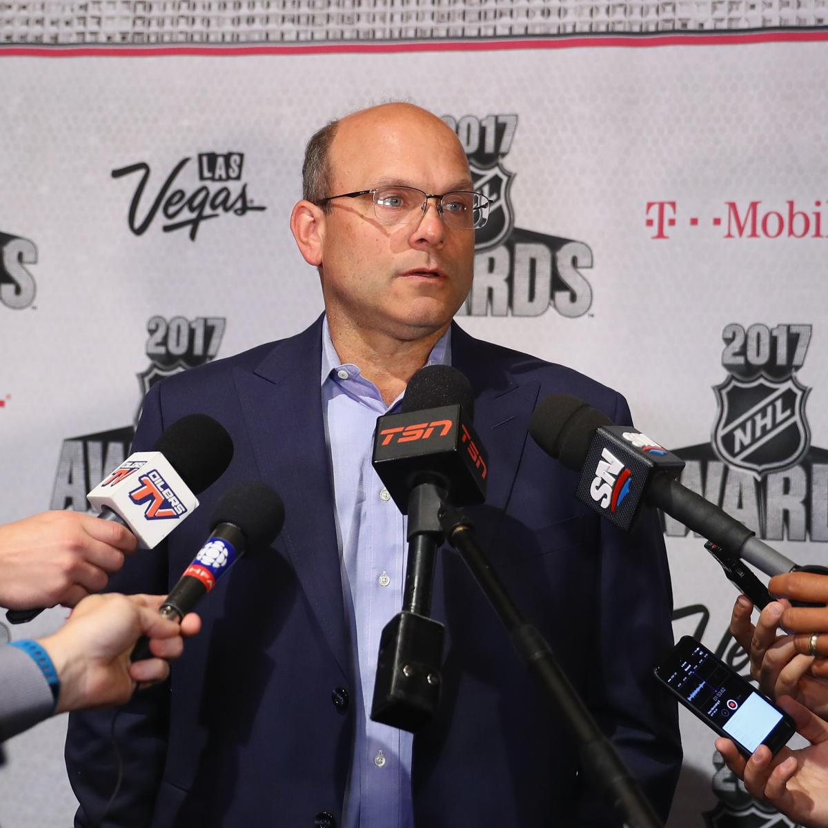 Oilers GM Peter Chiarelli Reportedly Fired After 3-Plus