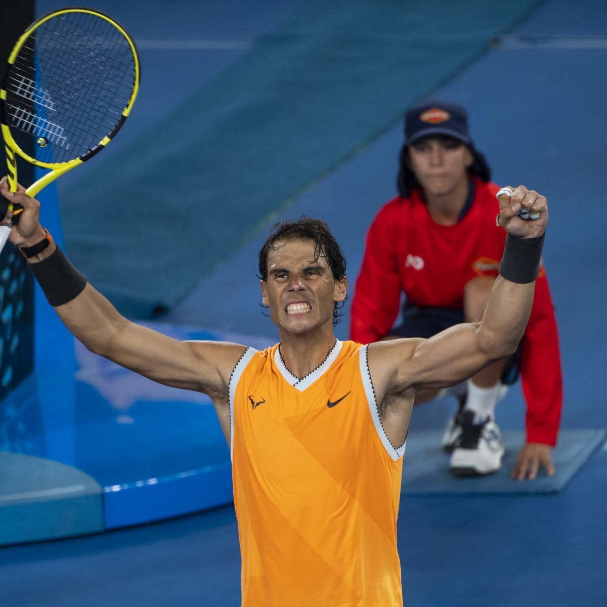 Australian Open 2019 Men's Semifinal: TV Schedule, Start