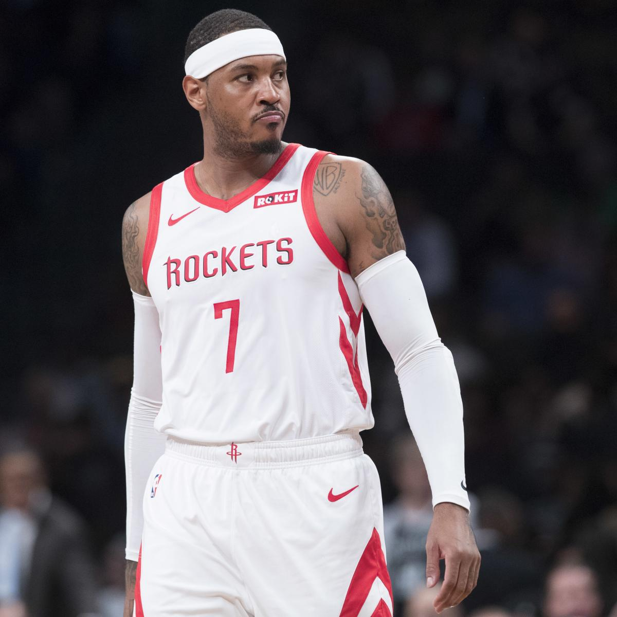 Carmelo Anthony, Trail Blazers Reportedly Agree to Non-Guaranteed Contract   Bleacher Report   Latest News, Videos and Highlights